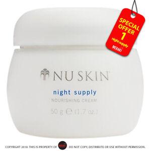 Nu-skin-Night-Supply-Nourishing-Cream-50g-1-7-oz-Night-supply-Nutricentials