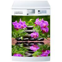 Stickers Lave Vaisselle Ou Magnet Orchidées 5531