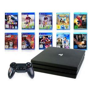 SONY-PS4-PRO-Konsole-1TB-NEUER-Controller-Spiel-Spielkonsole-Playstation