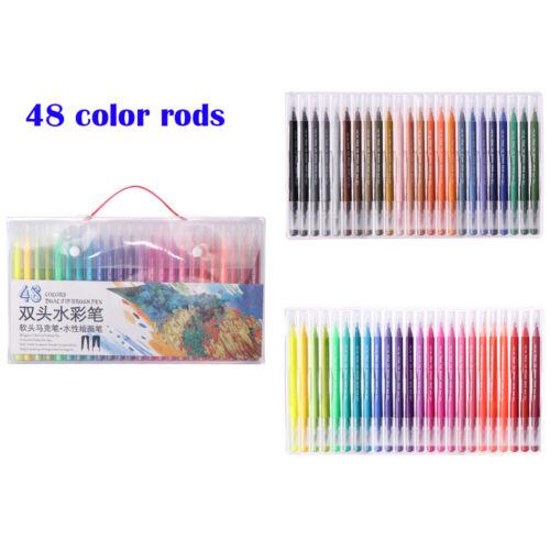 Watercolor Art Markers Soft Brush Pen Double-Headed Pen Marker Pen Set
