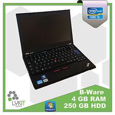 Lenovo ThinkPad X220   i5 2,5 GHz   4 GB Ram   250 GB HDD    B Ware