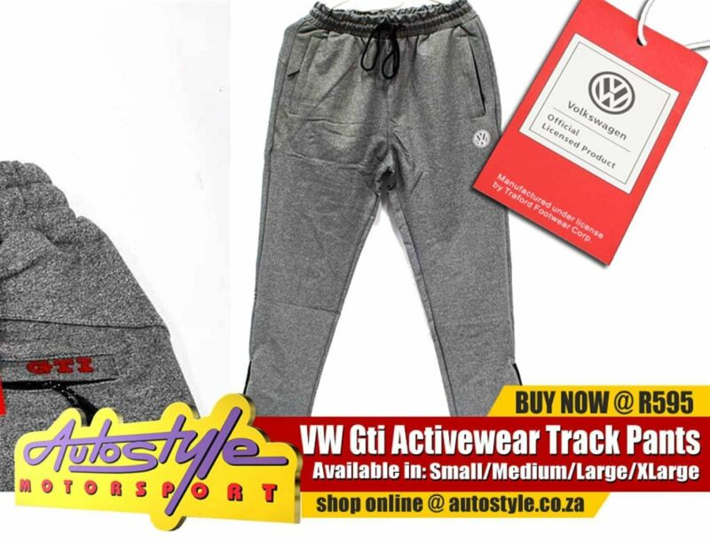 VW OFFICIAL  LICENSED TRACK PANTS, GTI AND VW VOLKSWAGEN