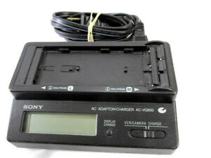 US-Used-SONY-Original-AC-VQ850-Battery-Charger-for-NP-F000-NP-FM330-F950-F750