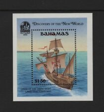 BAHAMAS 1991 500th ANNIV OF DISCOVERY OF AMERICA (4th) M/SHEET *VF MNH*