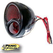 1933 33 FORD DUOLAMP BLACK /& BRASS PLATED LED TAIL LIGHT HARLEY BOBBER CHOPPER