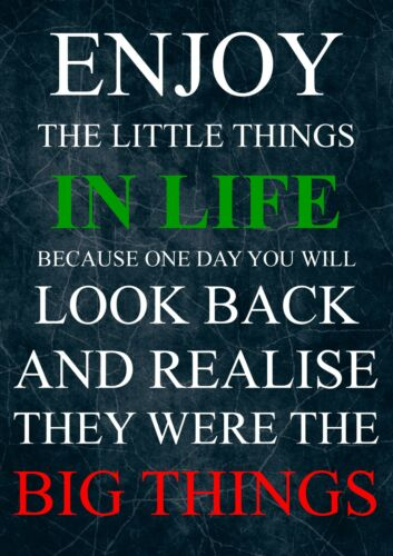 MOTIVATIONAL//LOVE QUOTE POSTER PRINT PICTURE 4 INSPIRATIONAL