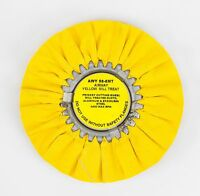 Zephyr 8 Airway Yellow Mill Treat - Primary Cutting Wheel F/ Aluminum & Steel