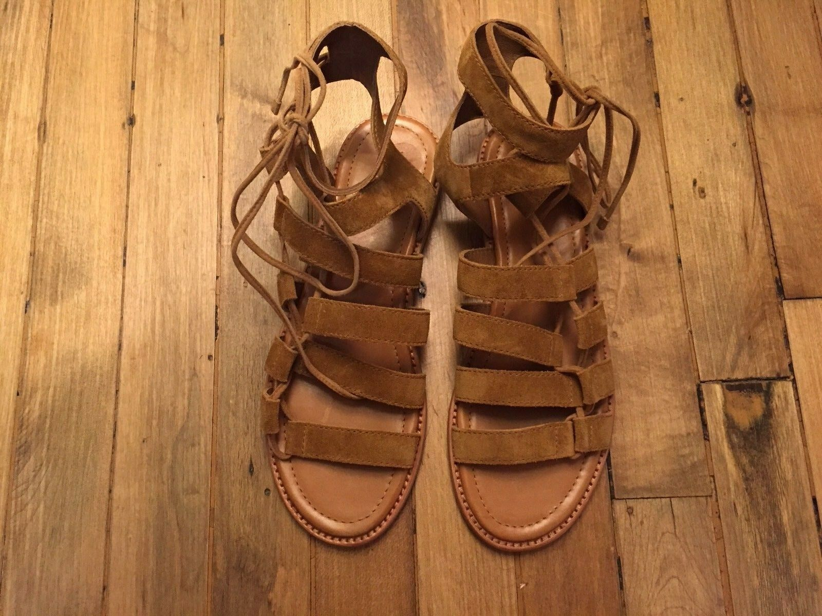 FRYE GLADIATOR SUEDE SANDALS NEW SIZE 9 9 SIZE 83af01