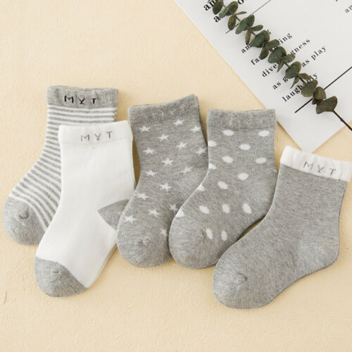 1 Pair Good Cotton Soft Baby Socks Kids Boy Girl Newborn Baby Infant Toddler