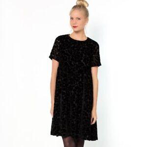 Robe Noire De Fetes Soiree Chic Mademoiselle R Velours Xs 34 36 Neuve Etiquette Ebay