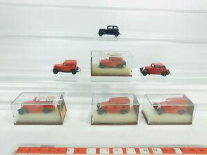 BK80-0,5 #7x Brekina H0 / 1:87 Modèle : Opel P4 + DKW F7, Top + 3x Box