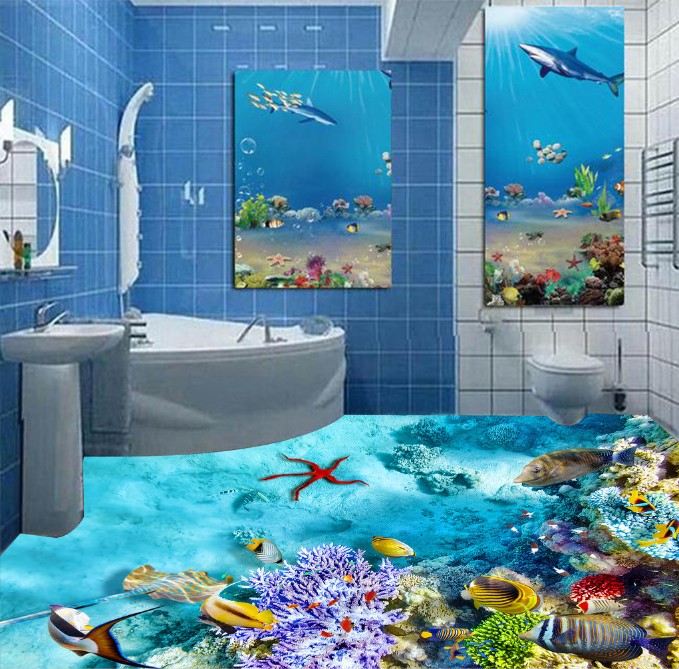 3D Ocean Coral Art 879 Floor WallPaper Murals Wall Print Decal 5D AU Lemon