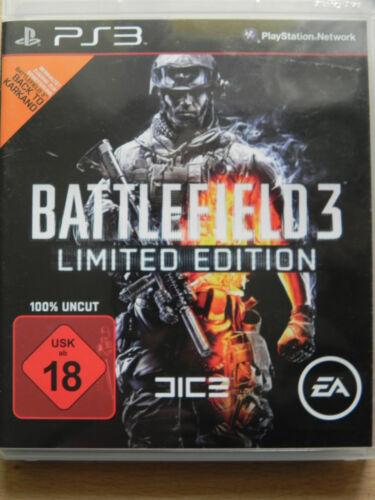 1 von 1 - Battlefield 3 -- Limited Edition (Sony PlayStation 3, 2011)