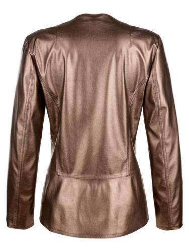 Bronze Imitation Jacket Look Leather 44 Marques Metal 42 1017135632 Gr 46 5aAqtqxwnZ