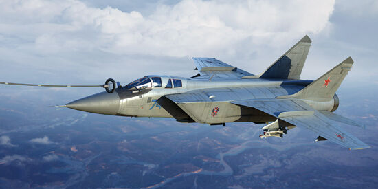 MiG-31B BM Foxhound 1 72 Trumpeter