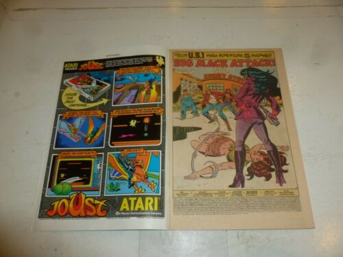 Vol 1 US 1 Comic No 9 Date 04//1984 Marvel Comic nbc