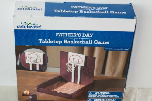 New Details about  /Way to Celebrate FATHER/'S DAY Tabletop Basketball Game