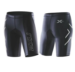 2XU -  Women's Elite Compression Short (WA1935b-BLK STL) Size  M - 50% Off  quality product