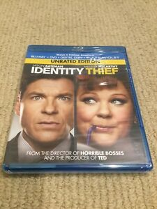 Identity Thief 2013 Blu Ray Dvd Region B A 1 Brand New Jason Bateman Ebay