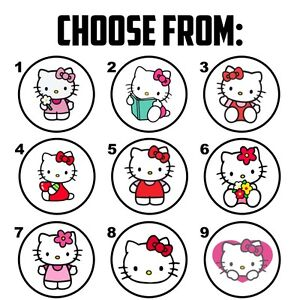 Exceptionnel Image Is Loading 63 Hello Kitty Envelope Seals Labels Stickers 1
