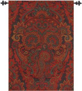 Ariana Holiday ~ Persian Paisley Tapestry Wall Hanging