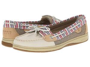 Sperry Top-Sider Women's Gold Authentic Original Croc Boat Shoe 6.5 Mujeres EE. UU. KPJAF06Sb