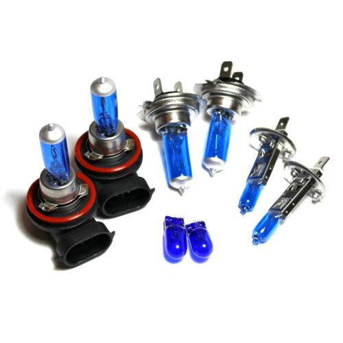 H7 H1 H11 501 55w Azul Hielo Xenon HID Alto//Bajo//Niebla//Lado Bombillas Set