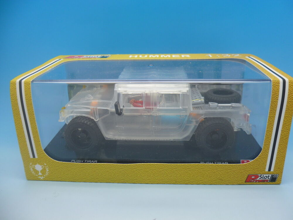 Power Slot, Hummer Clear Plastic Limited Edition of only 50