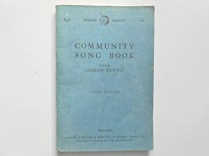 Vintage 16p Official Song Book of The Community Singers Association - <span itemprop=availableAtOrFrom>Highland, United Kingdom</span> - Vintage 16p Official Song Book of The Community Singers Association - Highland, United Kingdom