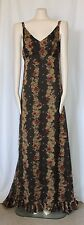 ANTHROPOLOGIE ROMANTIC BOHEMIAN FORMAL MAXI DRESS BY WILLOW AND CLAY