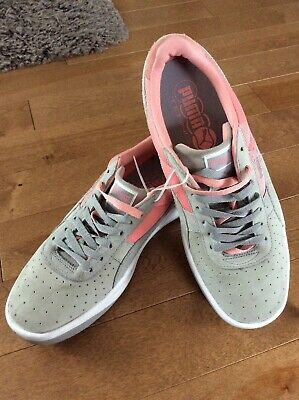 new arrival 3dcdc 437ba Puma GV Special Suede Sneakers Women US 10.5 Gray Desert Flower Coral NWOB  888534602514 | eBay
