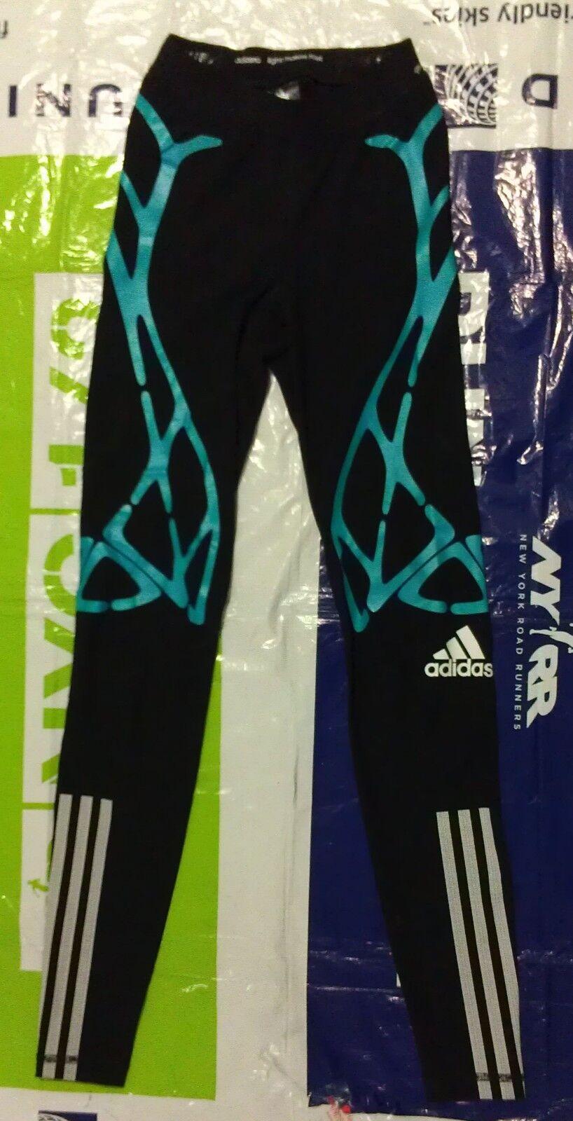 BNWT collants longs adidas adizero techfit sprint web pour hommes XS AJ4965