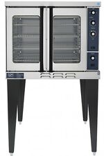 *NEW* DUKE E101-G COMMERCIAL SINGLE DECK GAS BAKING CONVECTION OVEN W/ LEGS