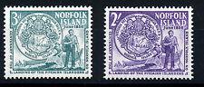 NORFOLK ISLAND 1956 PITCAIRN ISLANDERS LANDING SG19/20  MNH