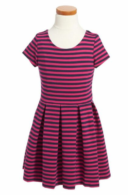 NEW Ralph Lauren Girls Sleeveless White Windowpane Plaid Party Dress Sz 3//3t 4t