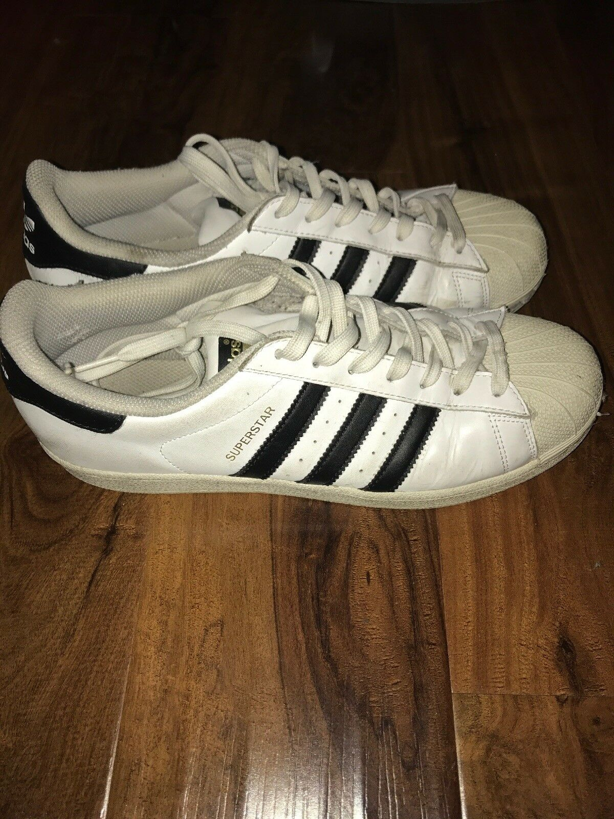 442a51e9f2b75 Size Superstar Men's Shoes Used 10 Adidas nfcknv3840-Athletic Shoes ...