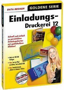 Einladungs-Druckerei-12-von-Data-Becker-Software-Zustand-gut