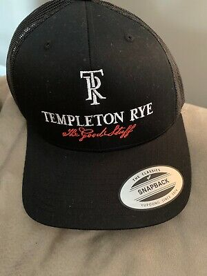 TEMPLETON RYE TRUCKER HAT  Snap Back  New