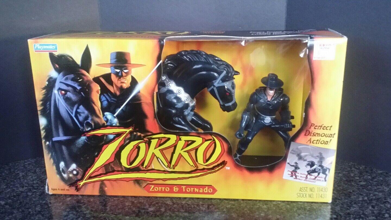 Vintage Zorro Tornado Playmates - MiB Sealed 1997