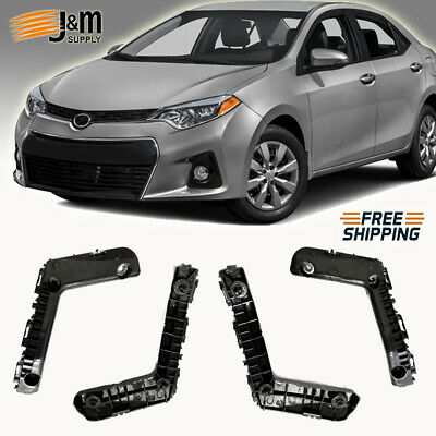 NEW Front Bumper Bracket Set for 2016-2017 For Toyota Prius LH RH Side