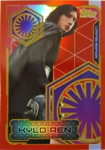 JOURNEY TO Star Wars THE LAST JEDI Trading Card LIMITED EDITION LETA KYLO REN
