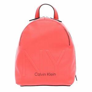 Calvin-Klein-sac-a-dos-Backpack-Small-Coral