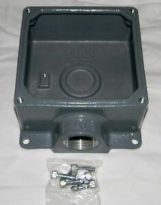 Hubbell BB60N Pin and Sleeve Products Non-Metallic Angular Box IEC 1 1//4 100A