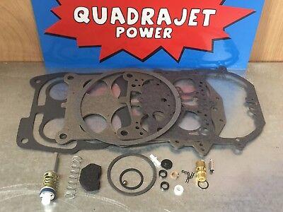Pontiac 66-74 Best! Quadrajet Premium Rebuild Kit Chevrolet 67-68 Buick 67-70