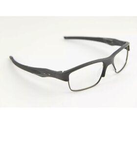 b6c442cd3c4 Image is loading Oakley-OX3128-0153-Crosslink-Switch-Eyeglasses-Black-53mm