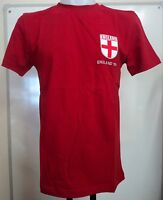 England 1966 Red Retro Greats Tee Shirt Adults Size Large Brand
