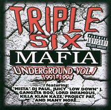 Underground, Vol. 1: 1991-1994 [PA] by Triple Six Mafia (CD, Jan-1999, Smoked...