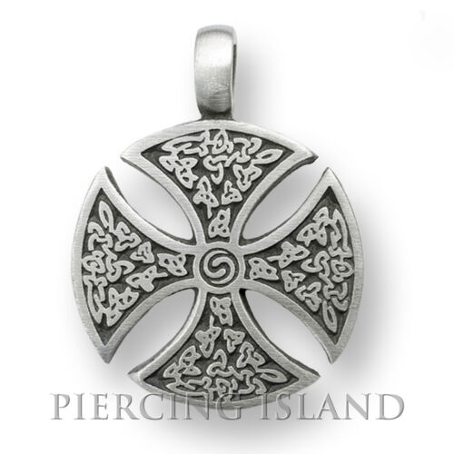 Cruz de caballero cruz tribal tatuaje Celtic amuleto Design pp007