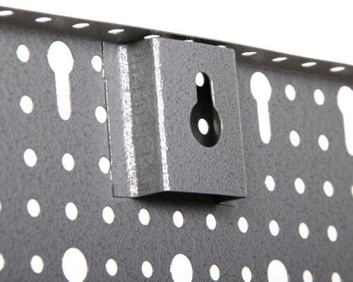 Ondis24 3er Set Werkzeuglochwand Werkstattwand Lochwand Metall mit Euro-Lochung