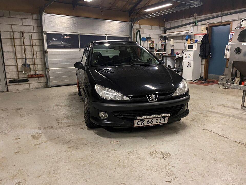 Peugeot 206, 1,6 XS, Benzin